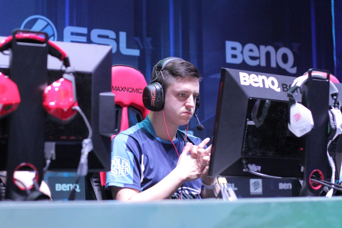 apEX playing for LDLC at ESL One Cologne 2014.