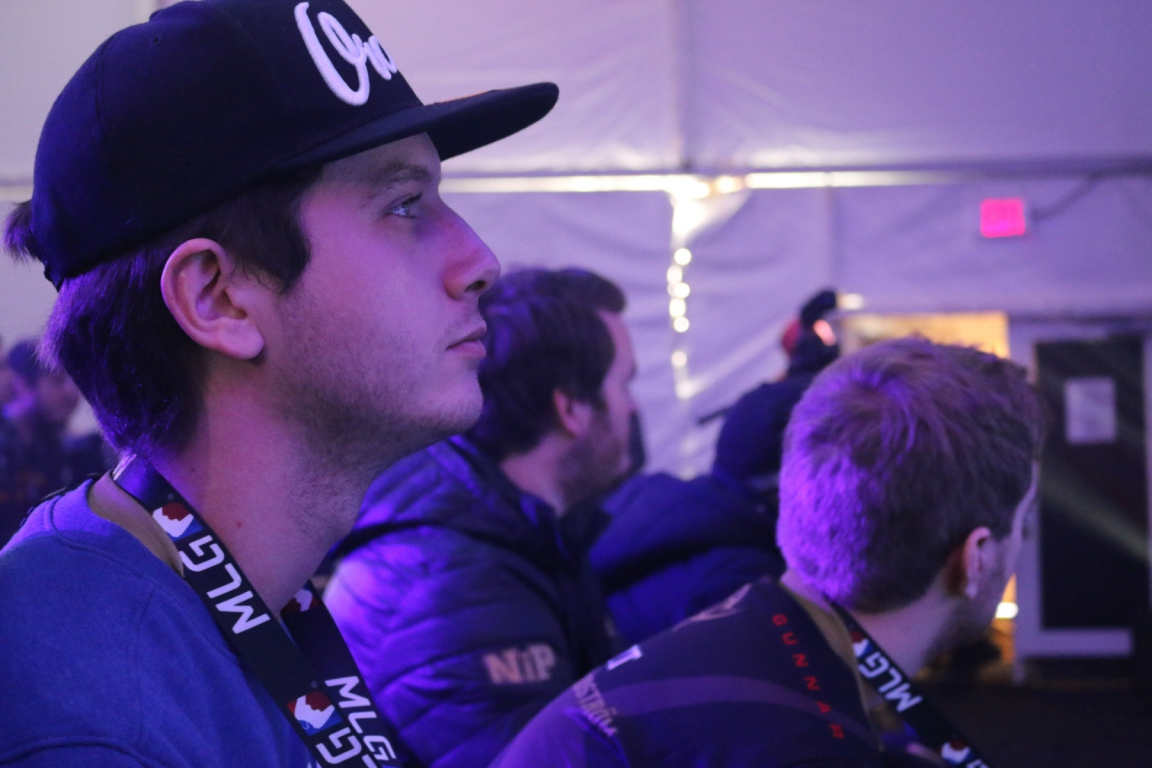 Maikelele with NiP at MLG X Games Aspen.
