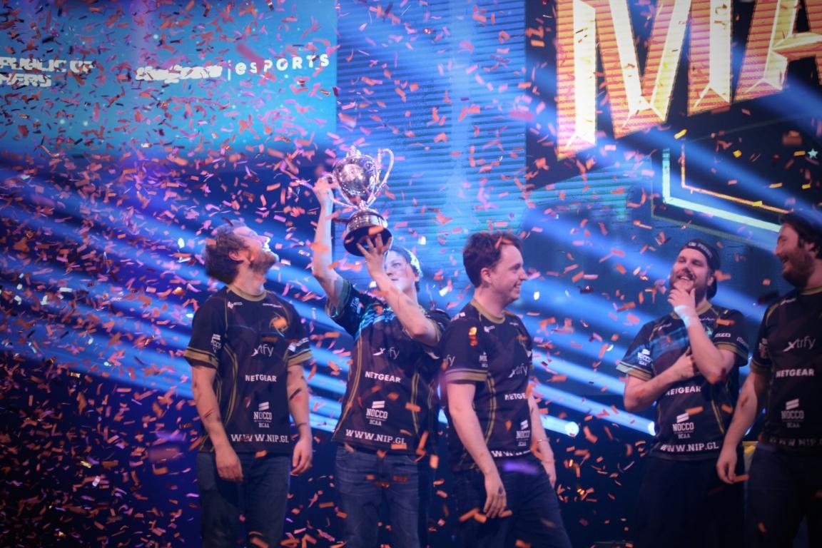 NiP won DreamHack Masters Malmö.
