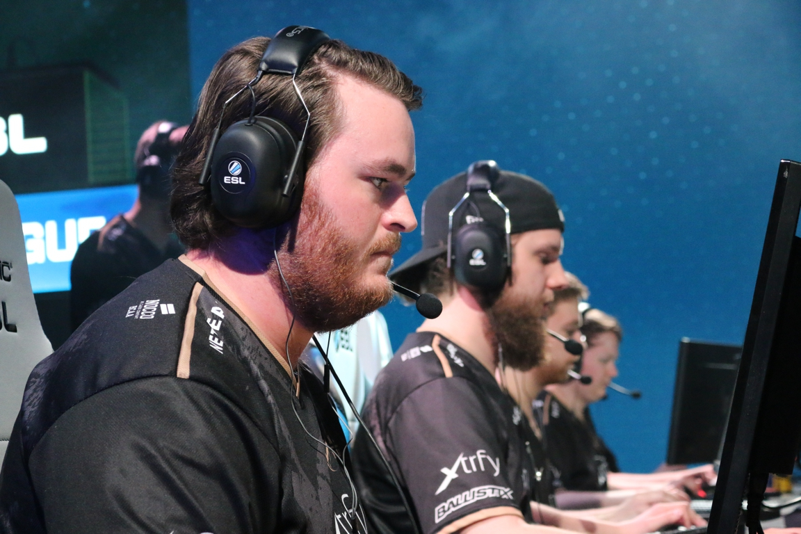 friberg together with his team mates in NiP Gaming.