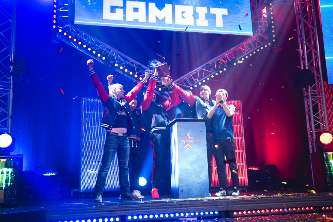 Gambit won DreamHack Winter 2016.