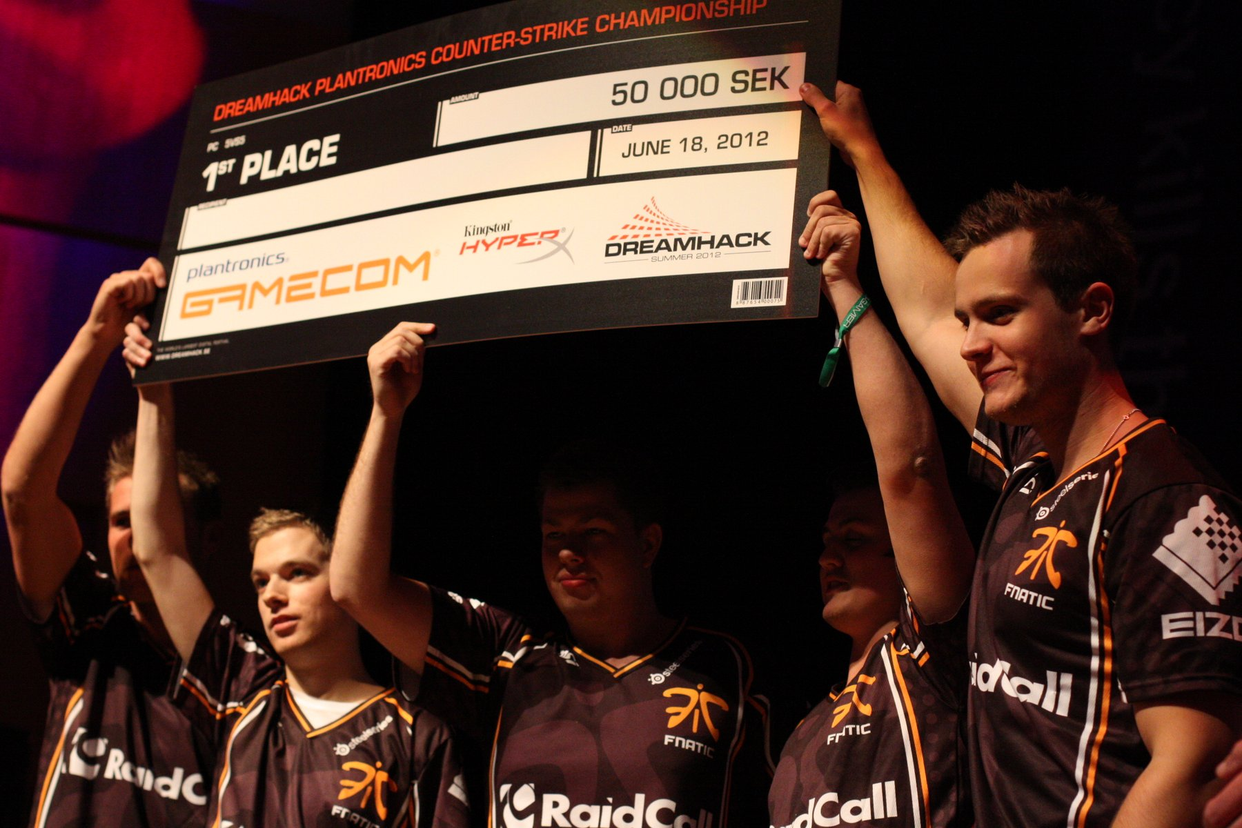 Fnatic winning DreamHack Summer 2012.