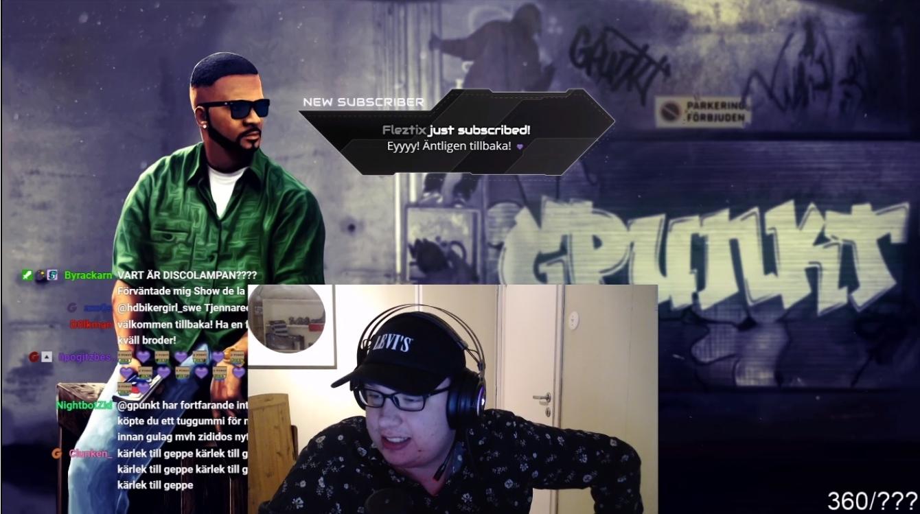 Bild från Twitch.tv/gpunkt