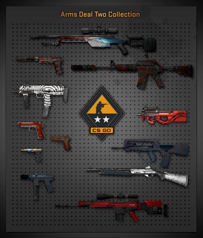nya skins lanserade med arms deal 2