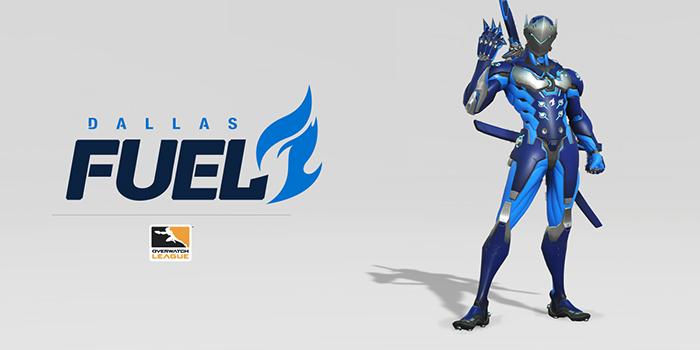 Dallas Fuel, Genji. Bild: Overwatch League