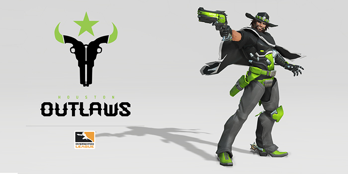 Houston Outlaws, McCree. Bild: Overwatch League