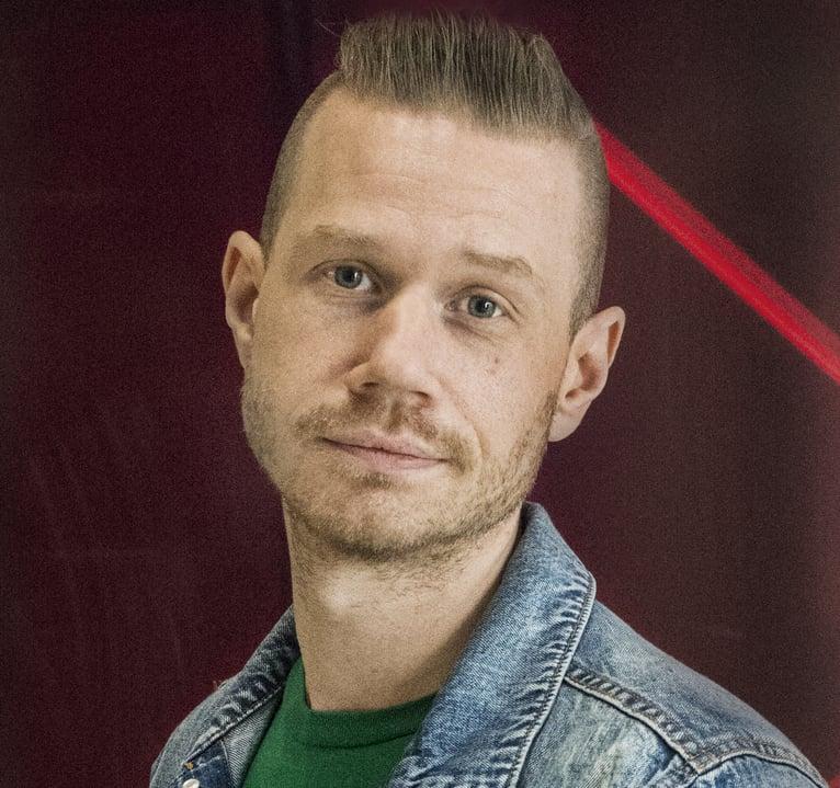 Johan Nilsson från UMO.