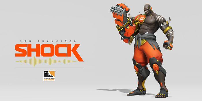 San Fransisco Shock, Doomfist. Bild: Overwatch League