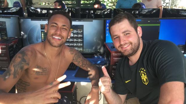 Neymar and Gabriel
