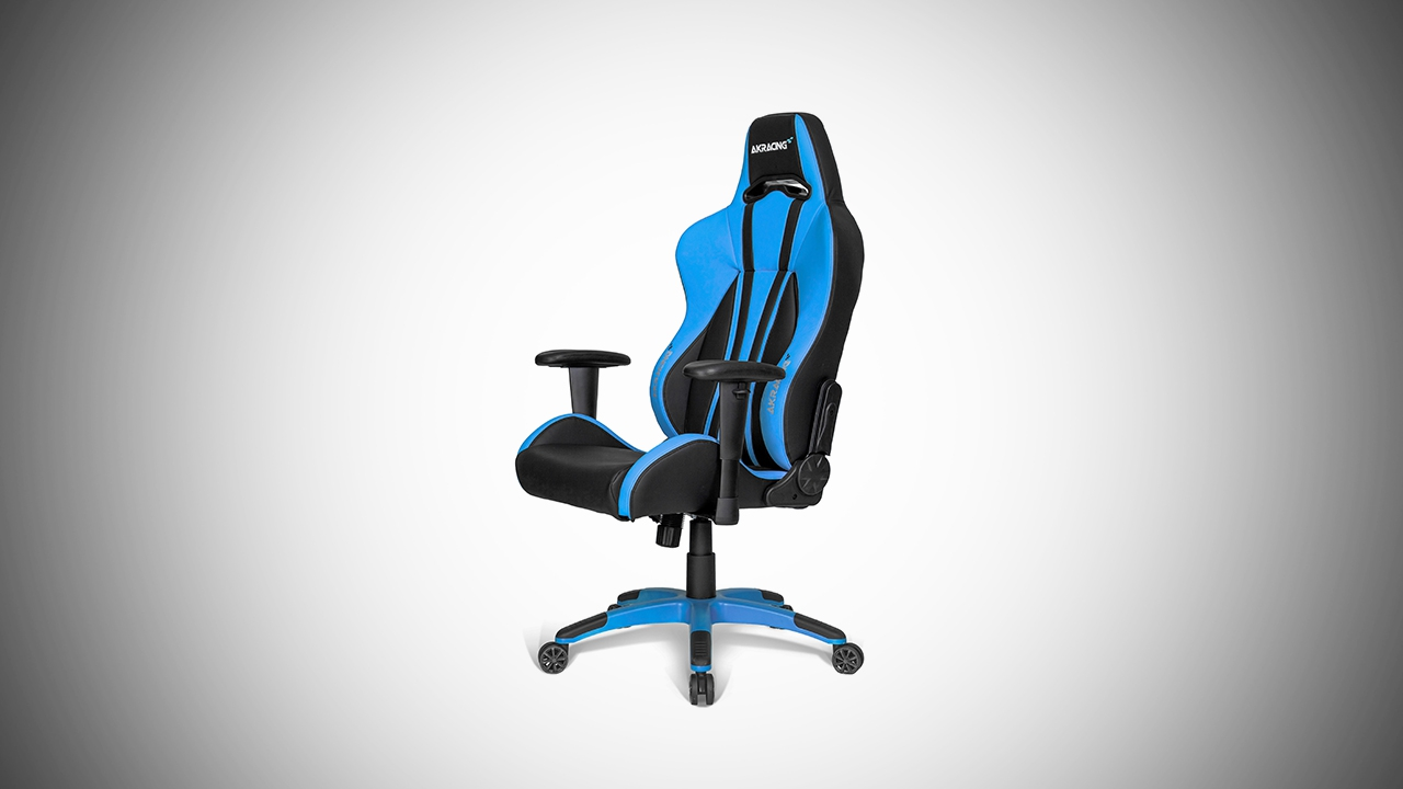 AKracing Premium Plus Blue