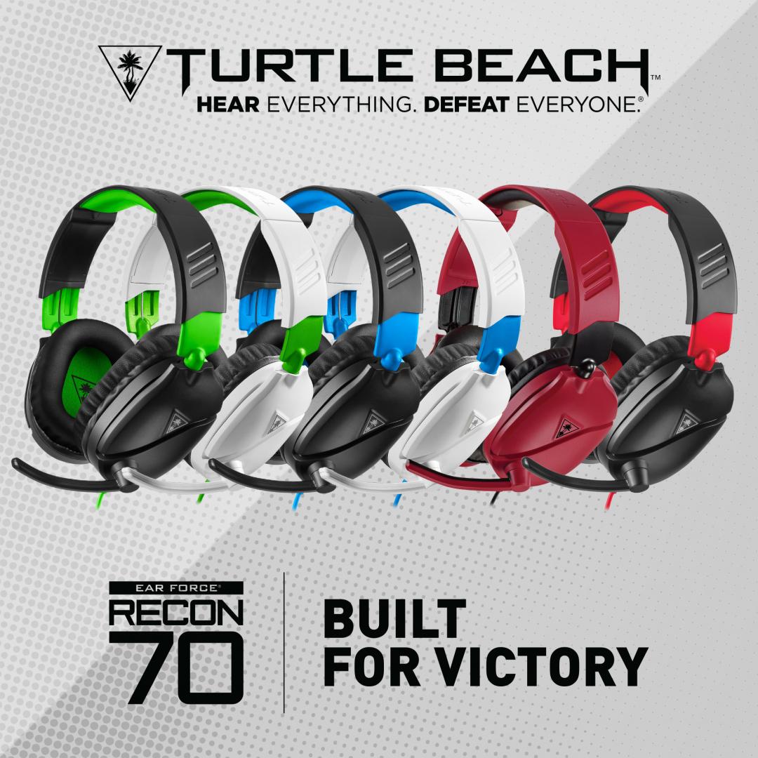 Turtle Beach Recon 70 finns i flera färger.