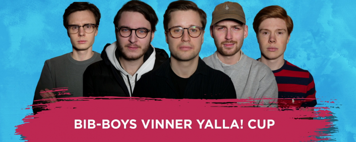 BIB-BOYS vinnare av Yalla! Cup 2019