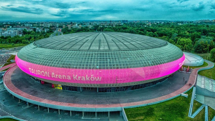 The TAURON Arena in Krakow is no stranger to esports, having previously facilitated the League of Legends EU LCS Summer Finals / Image by Krakow Today