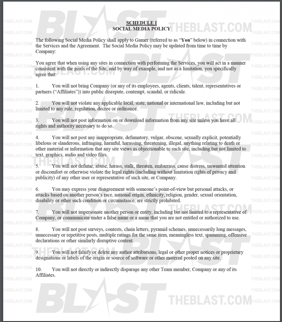 Middle School dating kontrakt