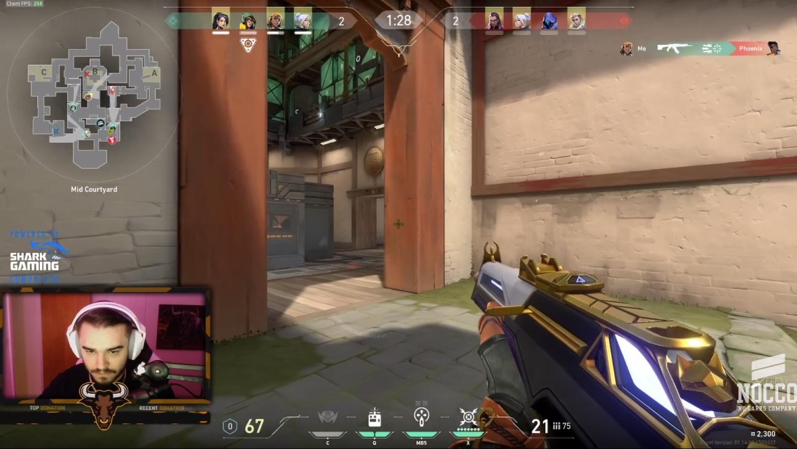 Bild från Twitch.tv/dominate