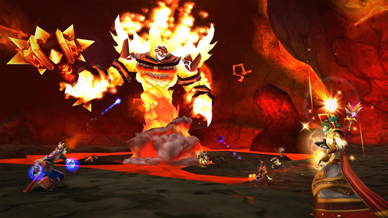 Du kan utföra raids och dungeons tillsammans med din grupp. Bildkälla: Blizzard Entertainment