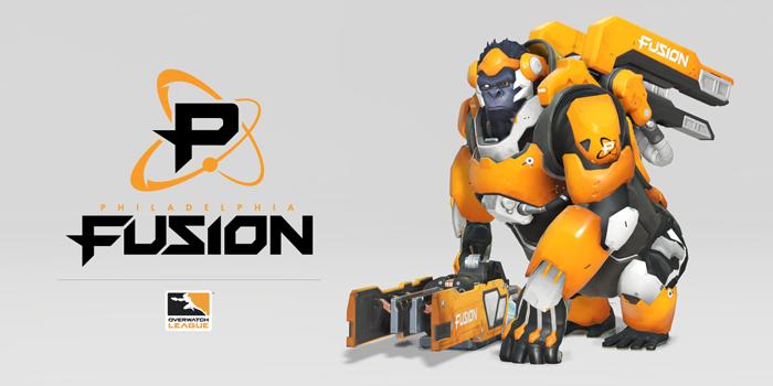 Philadelphia Fusion, Winston. Bild: Overwatch League