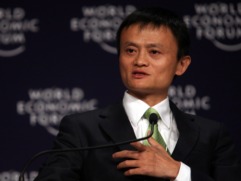 Jack Ma, grundare av Alibaba Group, investerar miljarder i hemlandet Kina. Foto: Natalie Behring/World Economic Forum